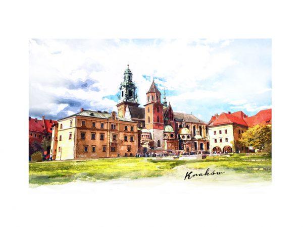 <span>Ilustracja Kraków – akwarela</span><i>→</i>